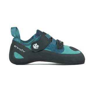 Evolv Women's Kira Climbing Shoe - 5 - Teal