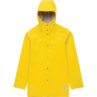 Herschel Supply Co Women's Classic Rain Jacket - Medium - Cyber Yellow