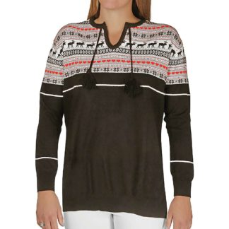 Hot Chillys Women's Sweater Knit Top - Small - Winter Love
