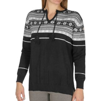 Hot Chillys Women's Sweater Knit Top - XS - Winter Vibe