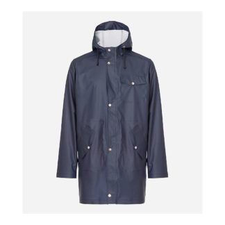 66North Men's Laugavegur Rain Jacket - XL - Mystic Blue