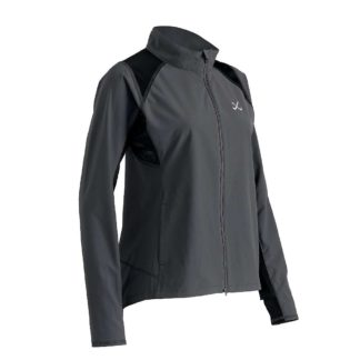 CW-X Women's Endurance Run Jacket - Medium - Charcoal Grey