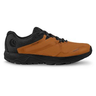Topo Athletic Men's MT-3 Running Shoe - 11.5 - Orange / Black