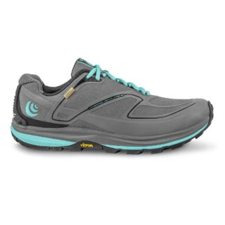 Topo Athletic Women's Hydroventure 2 Running Shoe - 8 - Charcoal / Sky